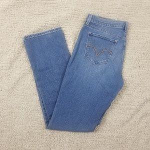 Levi's 505 Straight Leg Mom Jeans -  29 x 32
